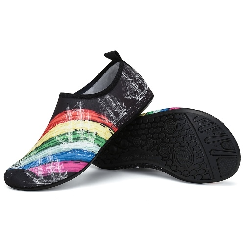 Летняя обувь для водных видов спорта нескользящая обувь Barefoot Aqua Socks фото