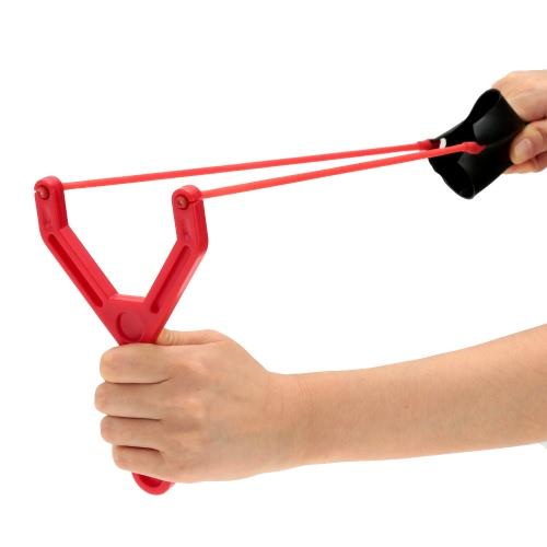 Portatile in gomma elastica esca colata fionda catapulta Fishing Tackle