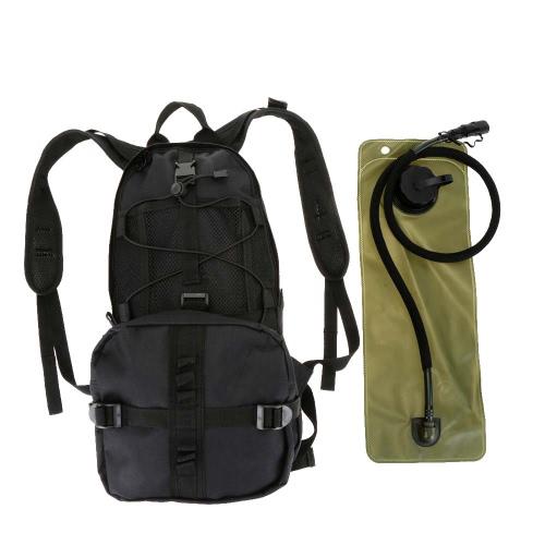 Freibad, Radfahren, Wandern, laufen Hydration Ranzen Pack Rucksack + 3L Wasser Blase Tasche