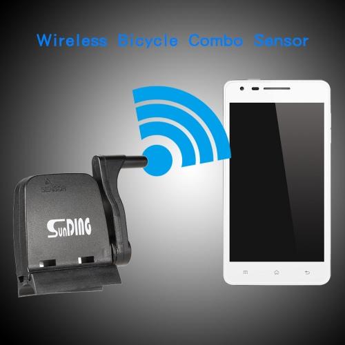 Sunding BT4.0 2,4 ГГц Smart Wireless Combo велосипед Датчик Cedence Датчик Датчик скорости