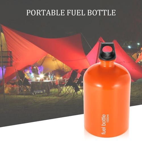 Портативный Бутылка топлива Нефть Бензин Бутылка бензобака Может 1000мл (Нет топлива)