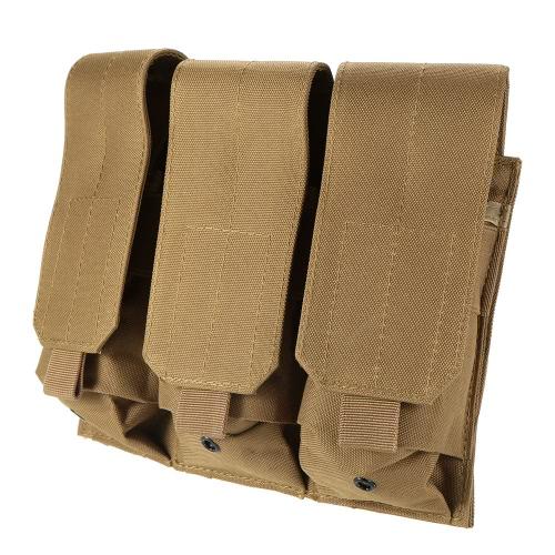 Combate pistola táctica modular triple bolsa Revista Ejército Militar Mag bolso de la bolsa