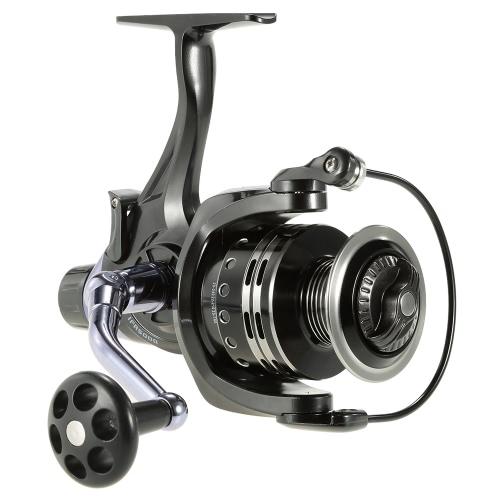 11 + 1BB rodamientos de bolas 4: 7: 1 carrete de la pesca izquierda / derecha intercambiable ultra lisa Carrete Pesca Spinning