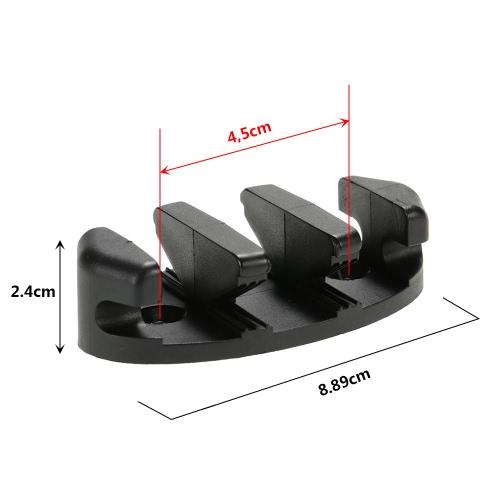 1pc zigzag del ancla de la grapa con 2 remaches de pernos y tuercas para kayak de barcos Canoas