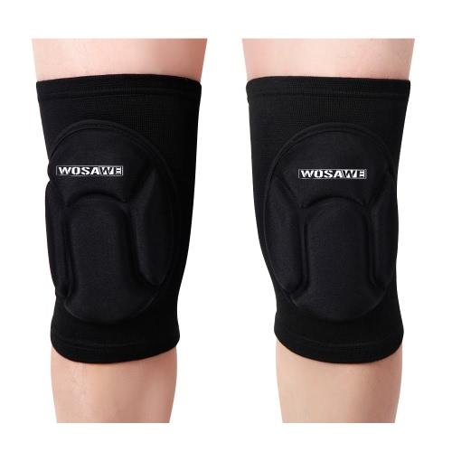 Wosawe rodilla Guardia manga Pad Baloncesto protector del cojín elástico con buena permeabilidad