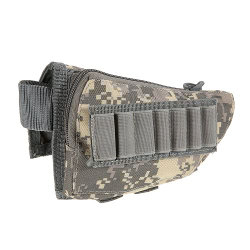 Buttstock Pouch Tactical Pouch caccia di accessori Pouch Holder vettori militari Gear Utility Tool Kit GUANCIALI design