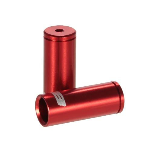 GUB 100pcs 4mm / 5 millimetri lega di alluminio Bike Derailleur cambio freno del cavo di legare Tappo Shifter cavo condutture Puntali Tupe Tops set di sostituzione