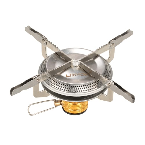 Lixada Ultralight Portable Outdoor Camping Gas Stove Hiking Backpacking Picnic Cooking Stove 3500W