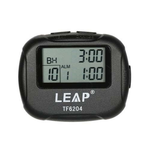 Digital Stoppuhr Chronograph Timer Countdown Sport Stopp Watch Counter Handheld für Schwimmen Running Interval Outdoor Aktivitäten