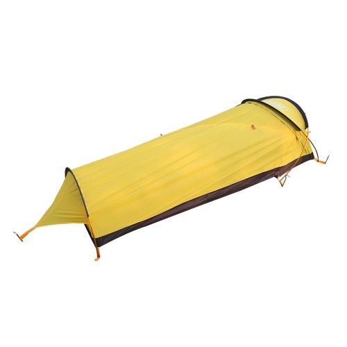 Сверхлегкий 1-человек палатка Дождезащитный личный чехол для палатки с тентом для наружного кемпинга Пеший туризм Рюкзак