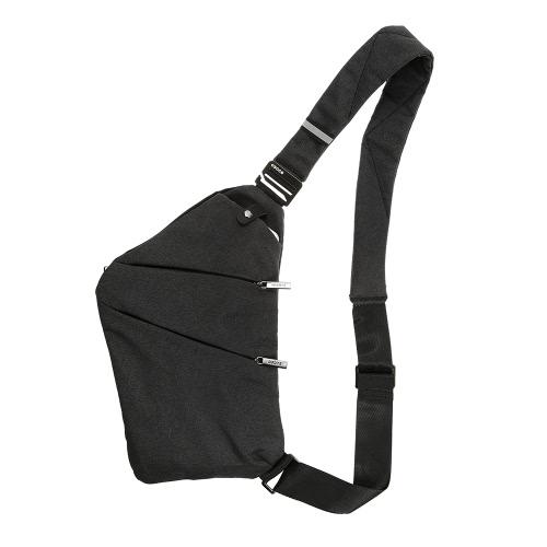Unisex Sling mochila bolsa de pecho