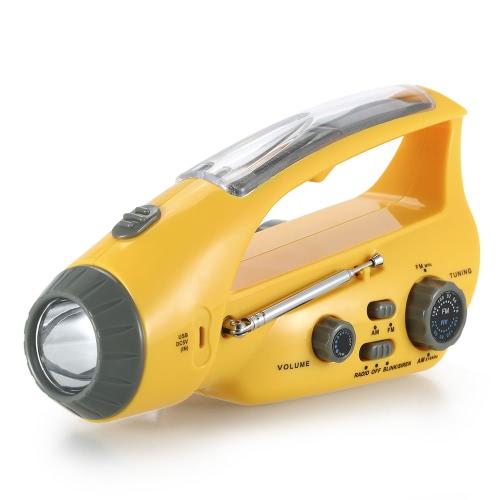 XLN-288DUS Solar-Notfall-Taschenlampe