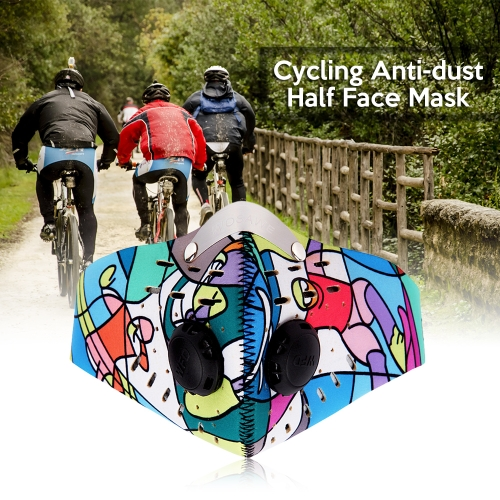 WOSAWE Cycling Face Mask Anti Dust Motorcycle Bicycle Bike Riding Outdoor Sports Half Face Mask Cover Protector