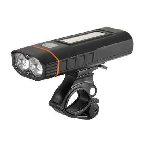 Fahrrad Licht Super Bright Bike Scheinwerfer Fahrrad Radfahren Licht Lampe Sicherheit Taschenlampe Wiederaufladbare Fahrrad Frontleuchte