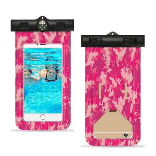 Universal Camouflage Mobile Phone Waterproof Dustproof Pouch Bag