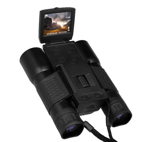 12x32 Cámara digital Binoculares 720P Video Recorder Telescope with 2