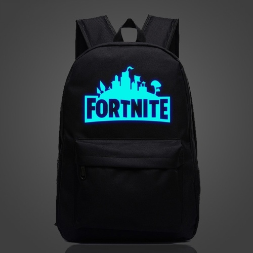 Fortnite Night Game Waterproof Night Luminous School Bag