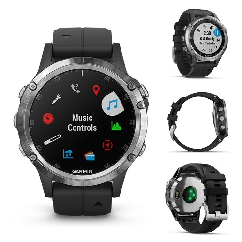 Garmin fenix 5 Plus Multisport GPS Smart Sports Watch