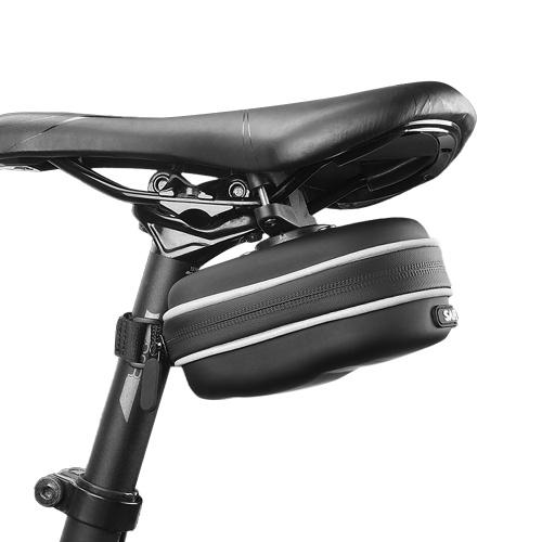 Bolsa de sillín de bicicleta Bolsa de asiento de bicicleta Bolsa de poste de asiento trasero de ciclismo reflectante Bolsa trasera de gran capacidad Bolsa de almacenamiento de bicicleta de carretera MTB