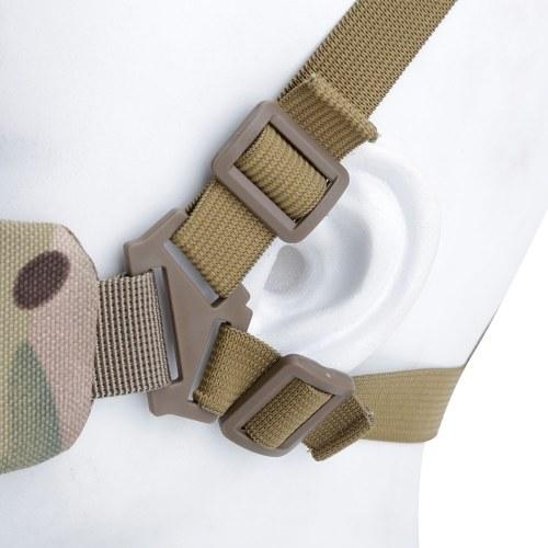 Faltbare Half Face Mesh Mask Einstellbare Tactic Untergesichtsschutzmaske 14 Farben erhältlich