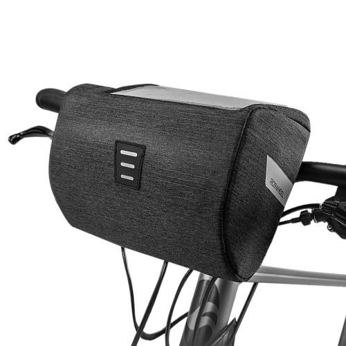 Bike Front Frame Bag Strap-on ...