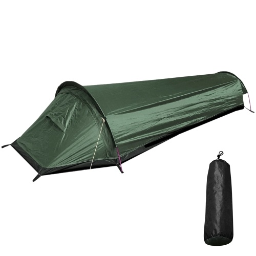 Backpacking Tent Outdoor Camping Sleeping Bag Tent Lightweight Single Person Tent