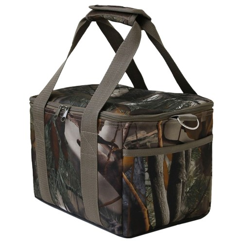 Saco térmico dobrável isolado saco de almoço portátil