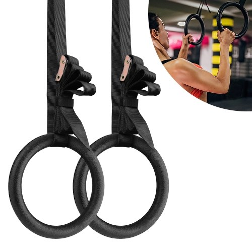 28mm ABS Gymnastic Rings Gym Rings
