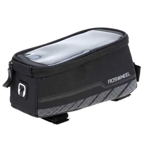 ROSWHEEL велосипедов передней рамы мешок сенсорный экран случай для 5,7 дюйма сотовый телефон