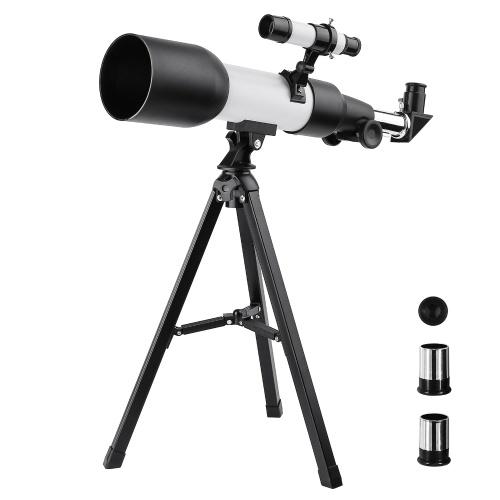 Astronomisches Brechungsteleskop Monokulares Outdoor-Spektiv mit Stativ für Kinder Anfänger Geschenk
