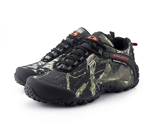 Camouflage Outdoor scarpe trekking scarpe Sport Sneaker impermeabile scarpe da Trekking arrampicata professionale scarpe uomo