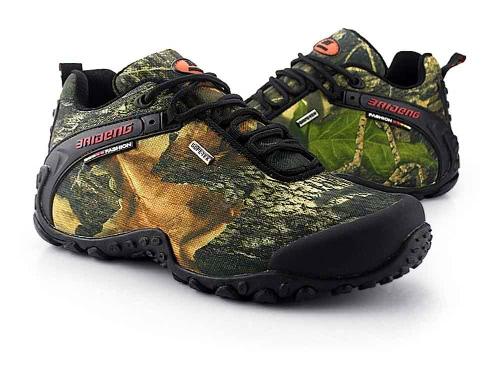Im freien Camouflage Schuhe professionelle Klettern Schuhe Herren Hiking Schuhe Sport Sneaker wasserdicht Trekking-Schuhe