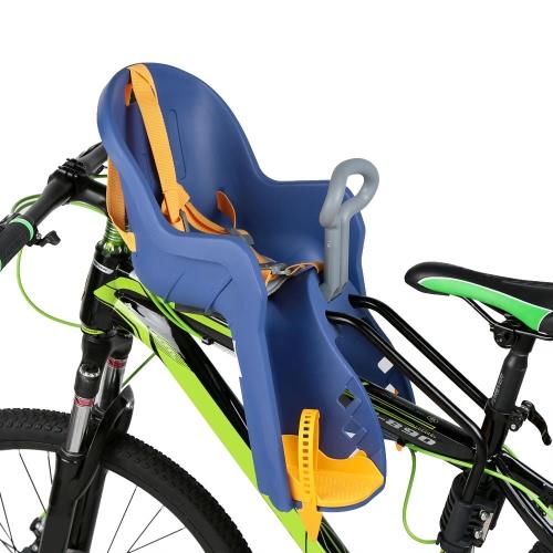 Biciclette bambini bambino bambino anteriore sedile portabici con corrimano