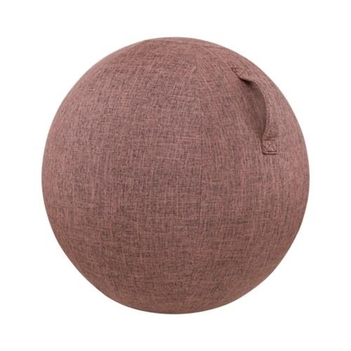 55cm/65cm/75cm Cotton+Linen Protective Yoga Ball Cover Exercise Ball Protection Skin Wrap Accessory