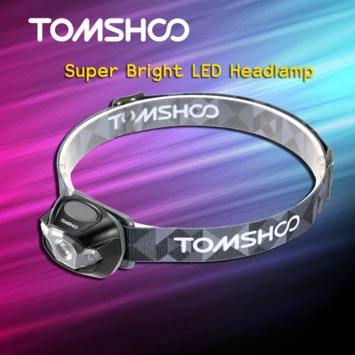 TOMSHOO супер яркие светодиодные фары высокой мощности фонарика фары лампа для велосипеде кемпинг, альпинизм другие мероприятия на свежем воздухе