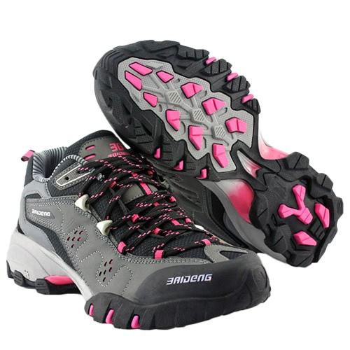 屋外靴専門登山靴女性の靴をトレッキング シューズ スポーツ スニーカーをハイキングします。