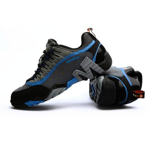 屋外靴専門登山靴メンズ ハイキング シューズ スポーツ スニーカー 2.5 cm 厚のインソールと靴をトレッキング