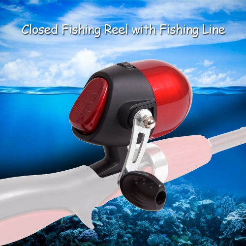 Closed Fishing Reel Fishing Spinning Reel with Fishing Line Image