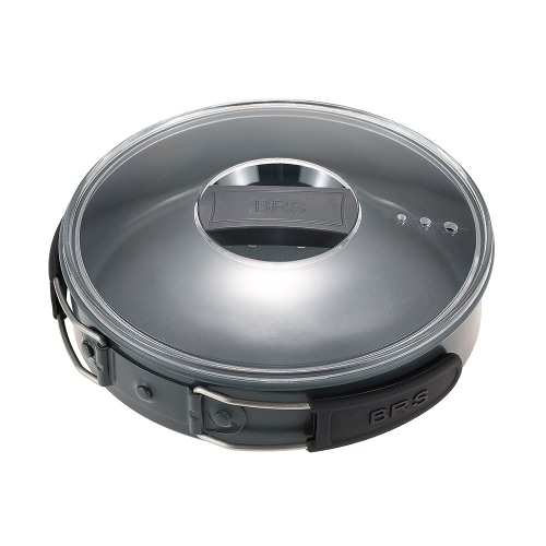 BRS Cookpot Cookware que acampa al aire libre del pote Establece Mutifunctional utensilio