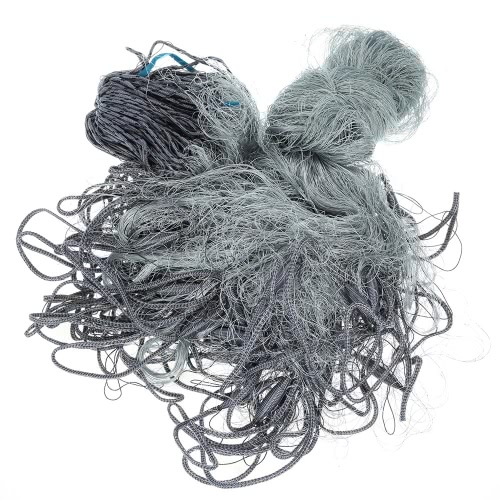 1.8*30m Multifilament Fishing Gill Net 3 Layers Multifilament Gill Net 40mm Mesh Hole Y2835
