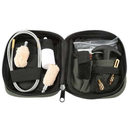 Tactical Pistol Compact Pouch Jagd Cleaning Kit Maintenance Kit Universal-