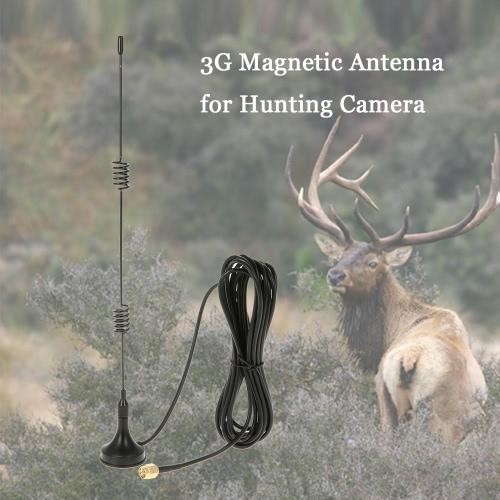 2G GSM 3G WCDMA 1800-2200MHz antena magnética para la cámara del juego del rastro de la fauna de caza Movimiento Scout