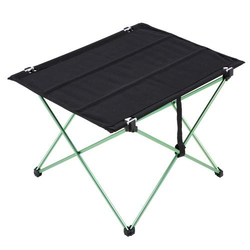 Docooler Compact tragbare Camping Versatile Tisch Klapptisch in einer Tasche für Picknick am Strand Camping Patio Angeln