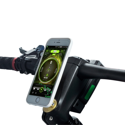 Impermeable MTB Road Bike Stem Handlebar Stem 95mm Smart Bicycle Stem con faro Mobile Rechargeable Power Bank