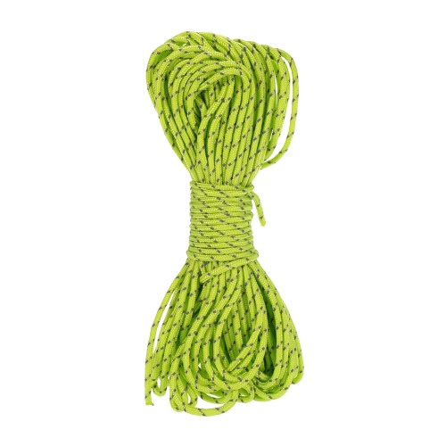 20m Reflective Rope Paracord Cord Outdoor Gear Lanyard 1 Inner Strand Core for Camping Awning