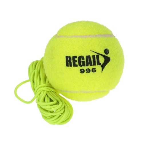 Borracha Natural Wool Synthetic Fiber Tennis Ball Dog Training bola de tênis com corda