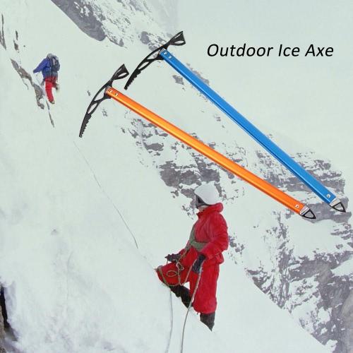 Eispickel Leichtes eloxiertes Aluminium Design Selbst Arrest für Wandern Gletscher Snowy Snowbank