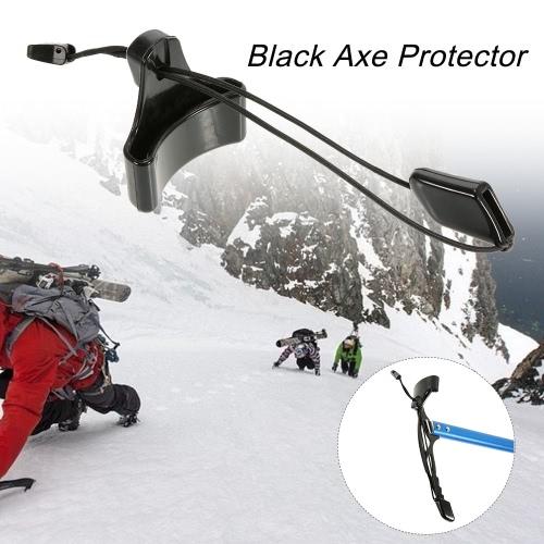 Negro Hacha protector del punto de retiro del protector de hielo cubierta de la cabeza del hacha de accesorios