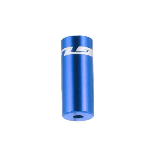 GUB 100pcs 4mm / 5 millimetri lega di alluminio Bike deragliatore cambio Brake Cable Wire Tappo Shifter cavo Custodia Puntali Tupe Tops set di sostituzione