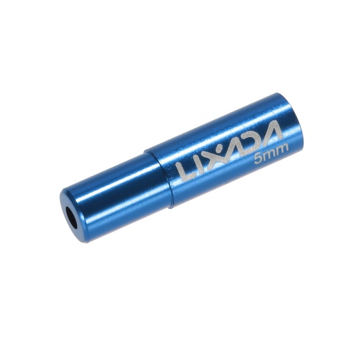 Lixada 10pcs 4mm / 5 millimetri di riciclaggio della bici Deragliatore cambio Brake Cable Wire Tappo Shifter cavo Custodia Puntali tubo Tops sostituzione Set in lega di alluminio